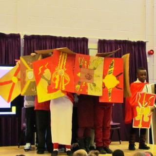YEAR 5 2015-2016: 5B Class Assembly on the Romans! - December 2015