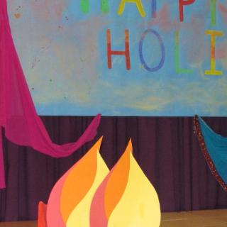 1A Class Assembly March 2017 - Holi