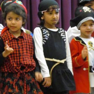 RM Class Assembly April 2017 - Pirates!