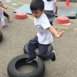 Nursery School Games Day July 2017