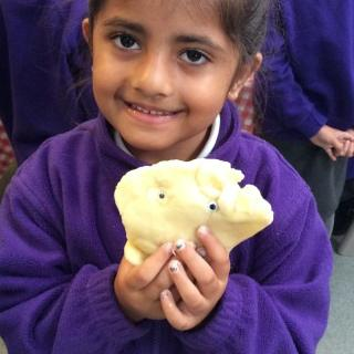 Reception retell the story of the Owl Babies and Make Biscuits!