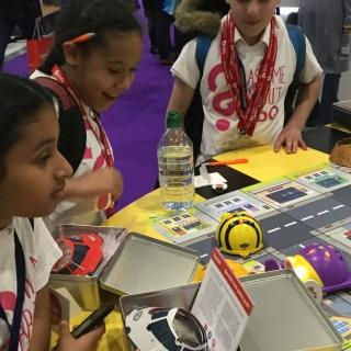 Year 6 at the Bett Exhibition, London Excel - January 2019